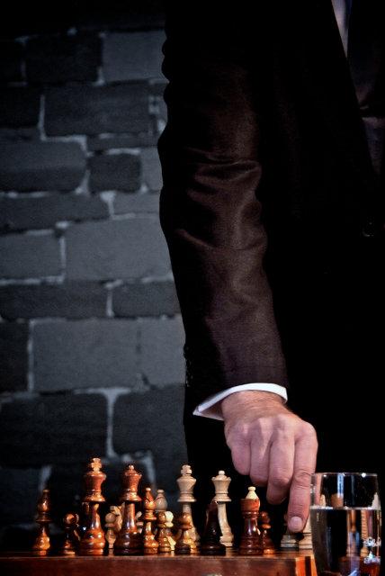 Die Schachnovelle - Fotos: Grischa Erbe, Regie: Christian Streng